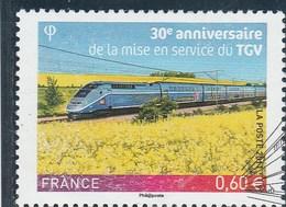 FRANCE 2011 TGV OBLITERE YT 4592  - - France