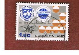 FINLANDIA (FINLAND) -  SG 1022        -    1982  FMI & WORLD BANK  -   USED ° - Usados