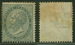 Italy 1863 King Viktor Emanuel II 5C Mi.16 MNG AM.568 - 1861-78 Victor Emmanuel II