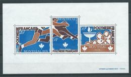 POLYNÉSIE 1976 . Bloc Feuillet N° 3 . Neuf ** (MNH) . - Blocs-feuillets