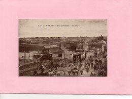 Carte Postale - MEKNES - Rue Principale - Le Camp - Meknès