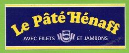 LE PATE HENAFF * AUTOCOLLANT A517 * - Stickers