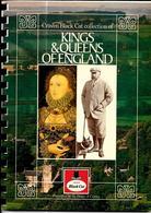 GF631 - ALBUM COLLECTEUR CRAVEN BLACK CAT - KINGS AND QUEENS OF ENGLAND - Sammelbilderalben & Katalogue