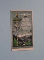 WALDKIRCH Bezirks Gewerbe/Industrie AUSSTELLUNG 1913 ( Sluitzegel Timbres-Vignettes Picture Stamp Verschlussmarken ) ! - Cachets Généralité