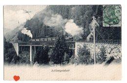 01123-LE-ALLEMAGNE-Köllsteigviadukt---------------train à Vapeur----------cachet Postal De TITISEE - Titisee-Neustadt