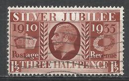 Great Britain 1935. Scott #228 (U) King George V, Silver Jubilee * - 1902-1951 (Rois)