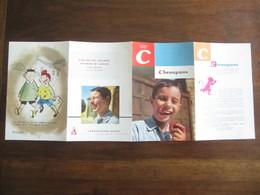 PUBLICITE MEDICALE LABORATOIRE HOUDE  MEMENTO C ET D CHENAPANS ET DIATHESESANNEE 50  60 - Advertising