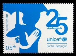 Azerbaïjan 2018 Mih. 1401 UNICEF MNH ** - Azerbaïjan