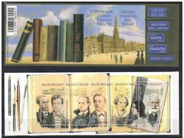 Boekje / Carnet 111 Literaire Wandeling In Brussel (nrs 2) Promenade Littéraire à Travers Bruxelles 3995/99** - Booklets 1953-....