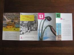 PUBLICITE MEDICALE LABORATOIRE HOUDE  MEMENTO U ET V UTOPIE ET VASO CONSTRICTION ANNEE 50  60 - Advertising
