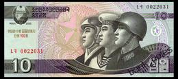 NORTH KOREA 10 WON 2002(2013) COMMEMORATIVE Pick CS10 Unc - Korea, North