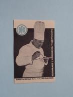 1956 KARLSRUHE Kochpraxis U. Gemeinschaftsverpflegung ( Sluitzegel Timbres-Vignettes Picture Stamp Verschlussmarken ) - Seals Of Generality