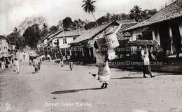 Ceylon Sri Lanka Street Scene Kandy இலங்கை ஸ்ரீலங்கா தெரு காட்சி கண்டி - Sri Lanka (Ceylon)