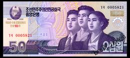 NORTH KOREA 50 WON 2002(2013) COMMEMORATIVE Pick CS11 Unc - Korea, North
