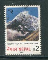 NEPAL- Y&T N°386- Oblitéré - Nepal