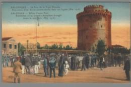 CPA Grèce - Salonique - Exposition D'un Avion Ennemi Abattu Dans Nos Lignes - Mai 1916 - Griechenland
