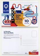 CP Pub Neuve - Quai Des Petits - Ouverture D'un Espace D'exploration - Novembre 2018 - Quai Des Savoirs - Ansichtskarten