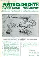 Postgeschichte Nr  64 Internationale Fachzeitschrift Für Brief + Stempelsammler - Zeitschriften