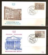 Belgique Belgie 1982 FDC  OCB N° 2034-2035 (°) Used  Cote 3,50 Euro - FDC