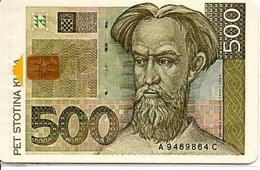 Monnaie Pièce Money Argent Télécarte Croatie Phonecard  (G 665) - Timbres & Monnaies
