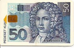 Monnaie Pièce Money Argent Télécarte Croatie Phonecard  (G 667) - Timbres & Monnaies