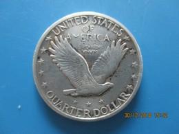 ÉTATS-UNIS D'AMÉRIQUE 1/4 Dollar Liberty 1918 San Francisco, TTB - 1916-1930: Standing Liberty (Libertà In Piedi)