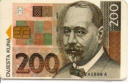 Monnaie Pièce Money Argent Télécarte Croatie Phonecard  (G 669) - Timbres & Monnaies