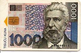 Monnaie Pièce Money Argent Télécarte Croatie Phonecard  (G 670) - Timbres & Monnaies