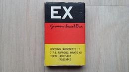 Zündholzschachtel In Den Deutschland-Farben Aus Japan (Werbung Für Snack-Bar) - Zündholzschachteln
