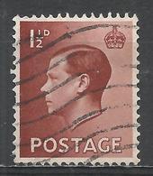 Great Britain 1936. Scott #232 (U) King Edward VIII * - 1902-1951 (Rois)