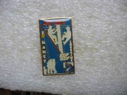 Pin's EDF-GDF: 45 Ans Sur Les Poteaux EDF De Nancy Lorraine - EDF GDF