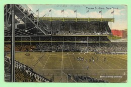 New York Yankee Stadium Amercan Football, Baseball Ca 1925 - Baseball