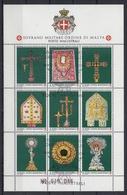 ORDEN DE MALTA 1991 Nº 384/92 USADO PRIMER DIA - Malta (la Orden De)