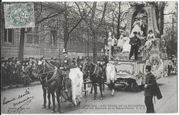 PARIS 75 SEINE  PARIS 1905 LES FÊTES DE LA MI-CARÊME CHAR DES PARFUMS DE LA REINE D'ITALIE EDIT. CLC  JCT&DG - France