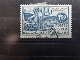 OCEANIE 1931, Exposition Coloniale PARIS, Yvert No 83, 1F 50 Bleu Obl TB - Océanie (Établissement De L') (1892-1958)