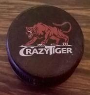 France Capsule Plastique à Visser Crazy Tiger Boisson énergisante - Capsules & Plaques De Muselet