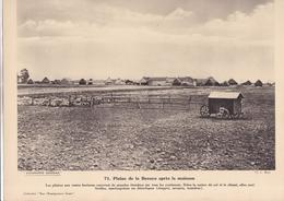 PLAINE DE LA BEAUCE APRES LA MOISSON  / PAS CP / 24X30 CM - France