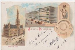Salut De Bruxelles 1903 - Panoramische Zichten, Meerdere Zichten