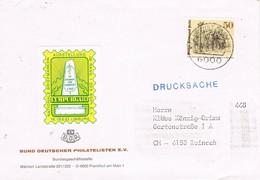 30976. Carta Impresos Drucksache FRANKFURT (Alemania Federal) 1983. Viñeta Label  LYMPURGA 83 - [7] República Federal
