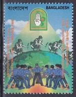 Bangladesch Bangladesh 1999 Organisationen Pfadfinder Scouts Jugend Youth Bäume Trees, Mi. 681 ** - Bangladesch