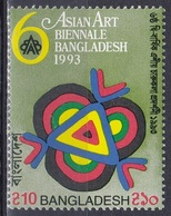 Bangladesch Bangladesh 1993 Kunst Arts Kultur Culture Festival Biennale Ausstellungen, Mi. 453 ** - Bangladesch