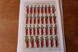 Imagerie Nouvelle D'Epinal   Musique De Hussards   N° 235  Grande Tenue - Vieux Papiers