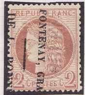 N°51 Annulation Typographique Des Journaux, Nuance Brun Rouge Clair, 1er Choix - 1871-1875 Cérès