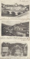 23 - Lot 3 CPA Précurseur D'Aubusson - Vue Prise Du Pont Neuf, Quartier De La Gare, Pont Neuf - Circulées 1903 - Aubusson