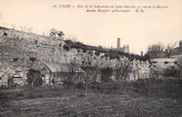 A-19 Be-118 : TOURS. ANCIEN REMPART GALLO-ROMAIN. 7 RUE DE LA BAZOCHE. - Tours