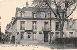 A-19 Be-119 : TOURS. PLACE EMILE ZOLA. PENSION DE FAMILLE  CORMILLOT. - Tours