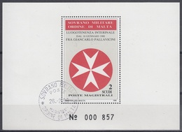 ORDEN DE MALTA 1988 Nº F287 USADO - Malta (la Orden De)