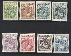 """Tunisie Taxe YT 66 à 73 """" Produits Agricoles """" 1957 Neuf** - Tunisia"""