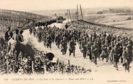 MILITARIA GUERRE De 1914  La Paix Et La Guerre - Peace And War - Guerre 1914-18