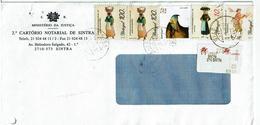 Portugal , 1996 , 1997 ,  Mussel Seller , Fish Seller , Broom Seller , Eagle ,  Resgistration Labels 2710 Sintra - Other